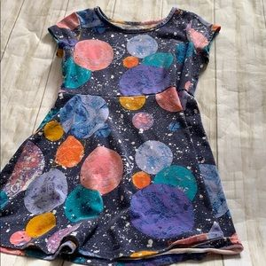 Girls space dress